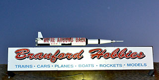 Branford Hobbies Sign With Rocket